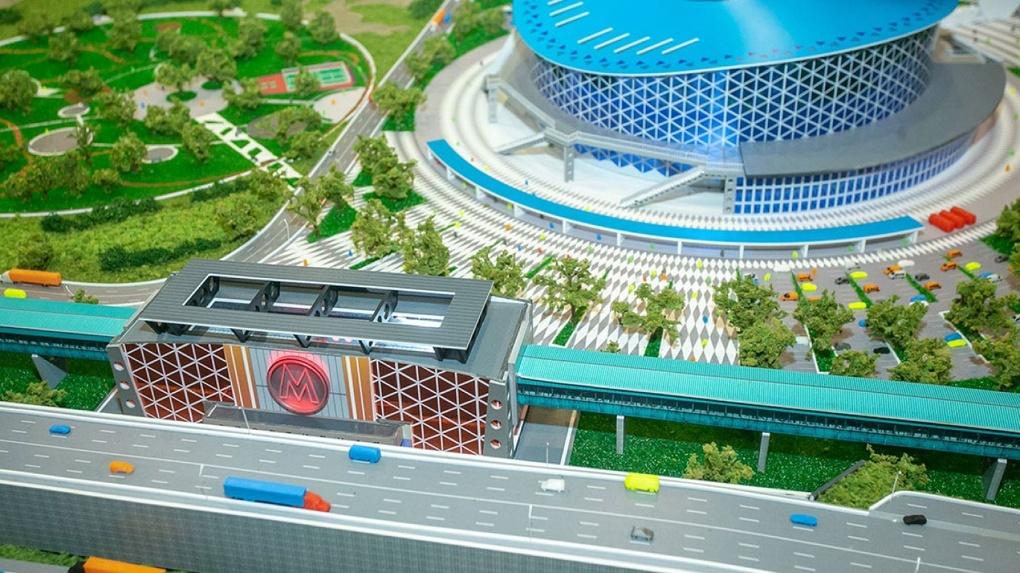 Власти Новосибирска рассказали, что ждет новую Ледовую арену и станцию метро «Спортивная» в 2020 году