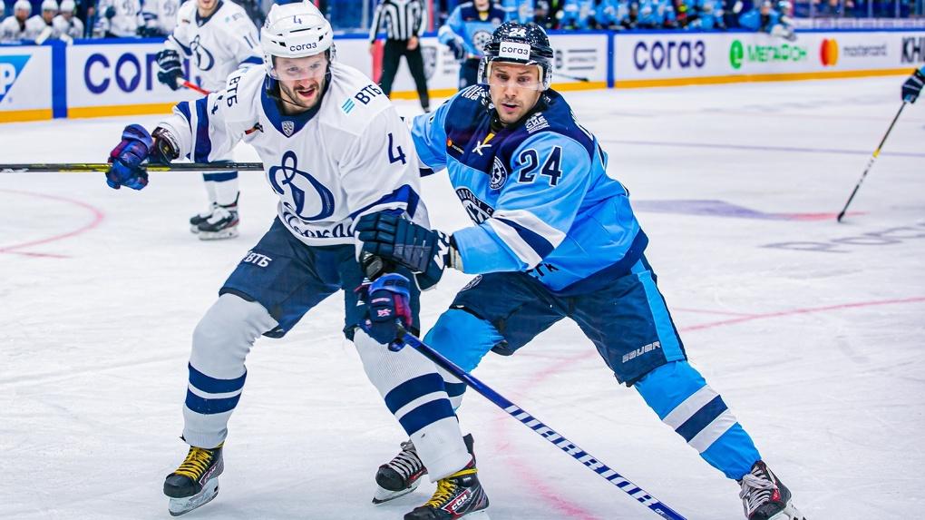 Новосибирский ХК «Сибирь» проиграл московскому «Динамо» в матче КХЛ