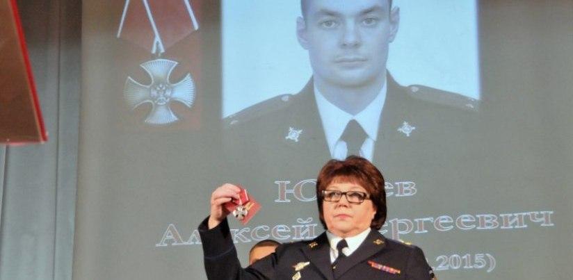 Омский полицейский, погибший на Кавказе, награжден орденом Мужества