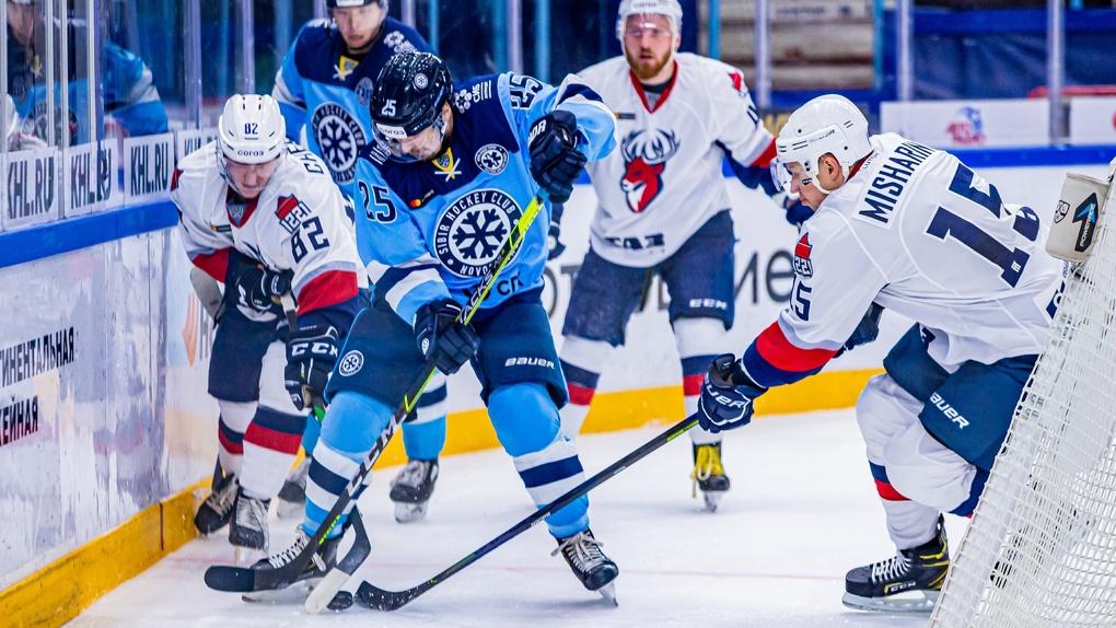 «Сибирь» обыграла нижегородское «Торпедо» в матче КХЛ со счётом 3:1
