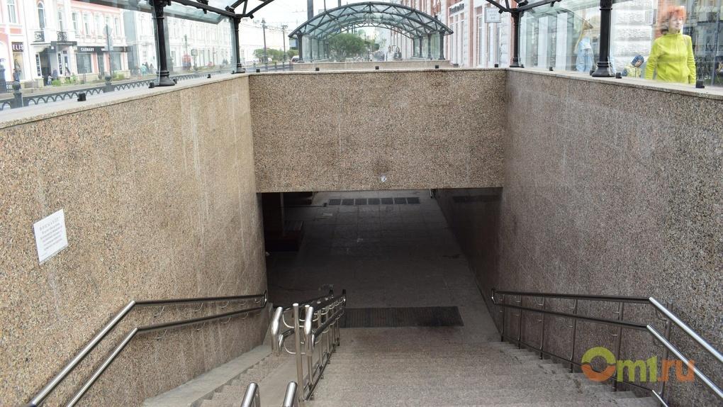 В Омске новый подземный переход на Ленина будут защищать от подтоплений
