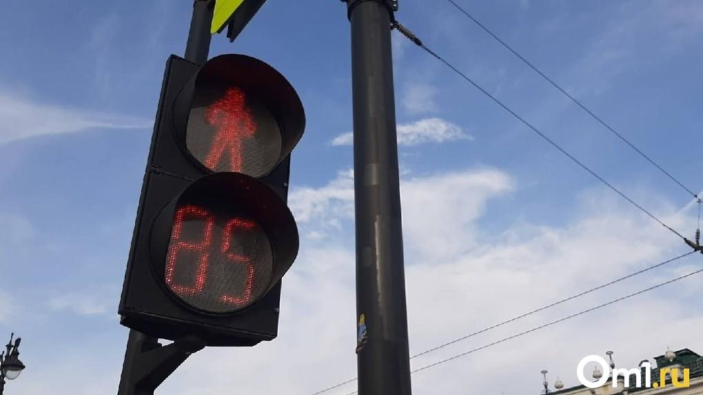 На Левобережье в Омске изменится режим работы светофора
