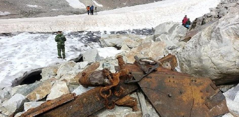 В леднике Эльбруса обнаружили останки жителя Омска, погибшего более 70 лет назад