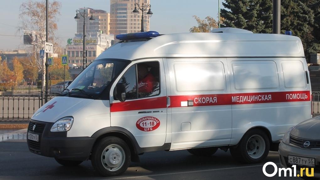 Жители Островского 5-го переулка в Омске боятся остаться без помощи врачей из-за отсутствия асфальта