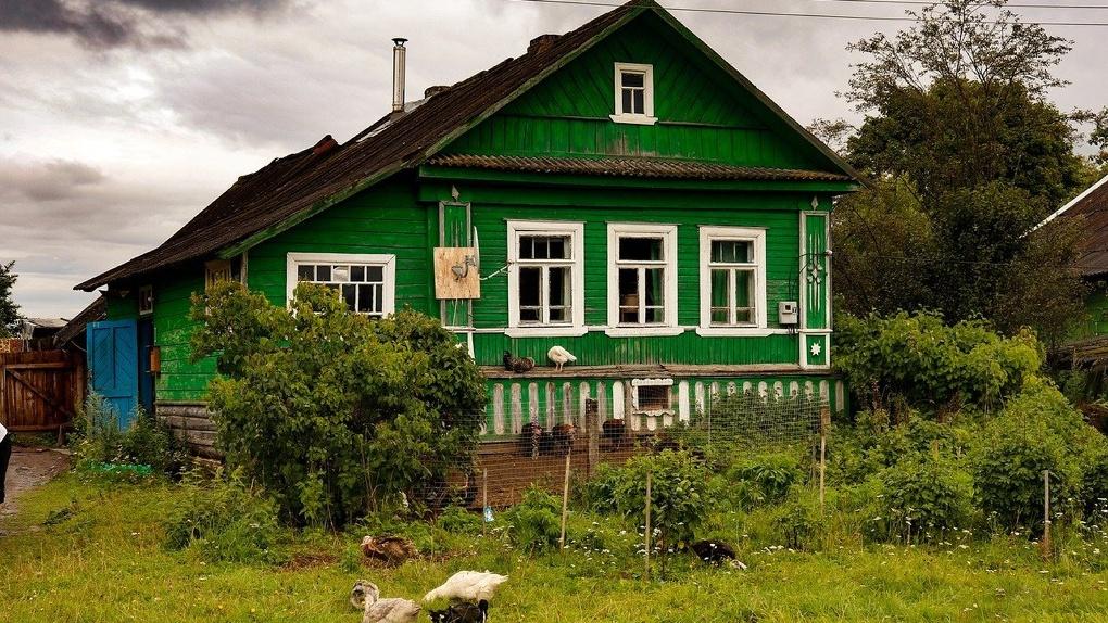 Дом в деревне под Омском оценили в 38 млн рублей
