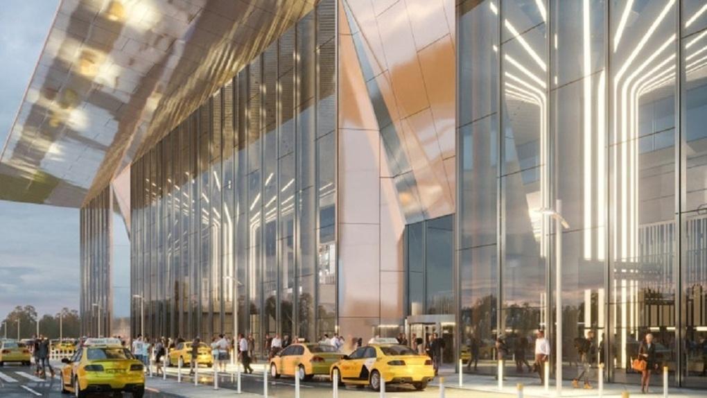 Работы начались: забита первая свая для нового терминала новосибирского аэропорта Толмачёво