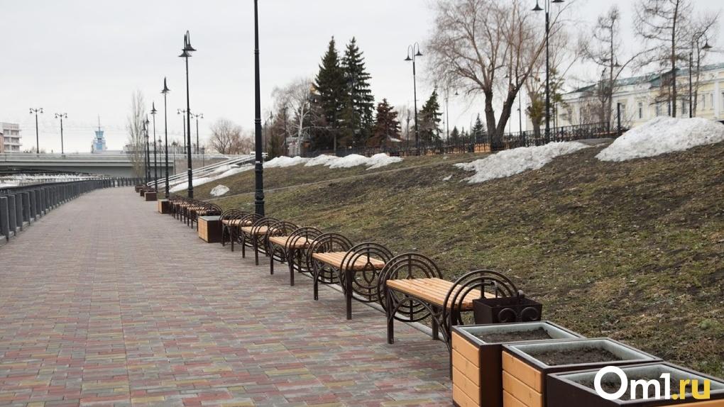 Стало известно, когда откроется торговый павильон на улице Бударина в Омске