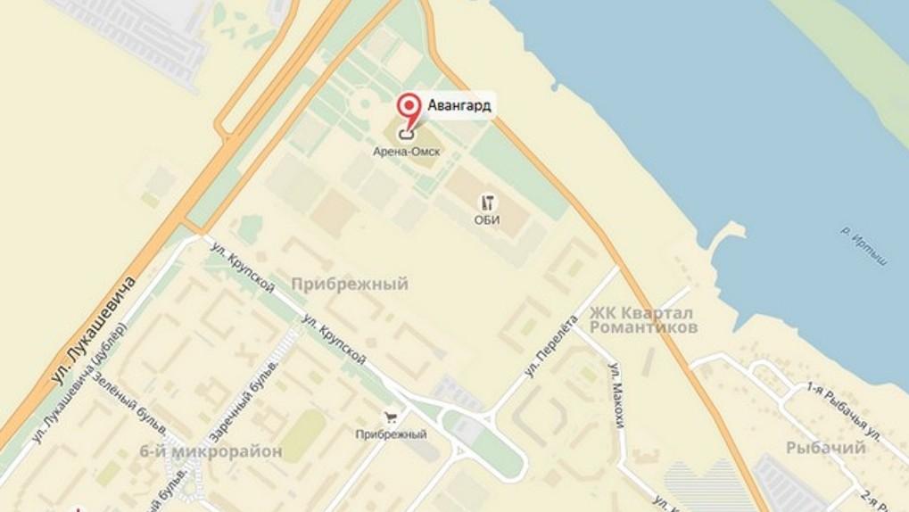 Минимущества передает городу развязку перед «Ареной Омск»