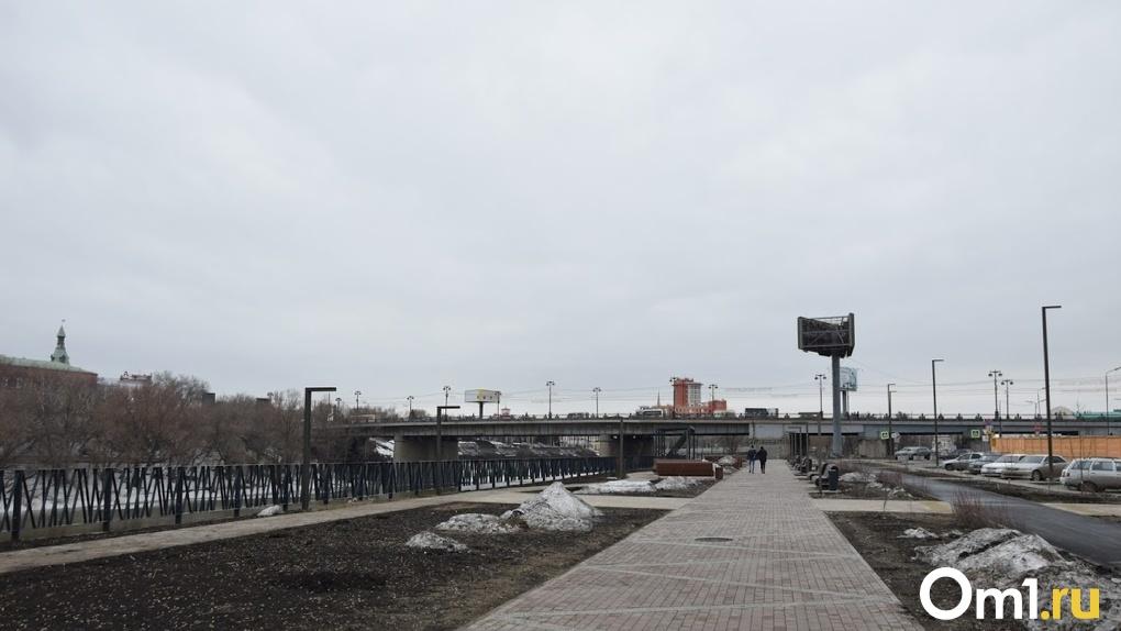Новая дорога в центре Омска разгрузит транспортный поток между Комсомольским и Фрунзенским мостами