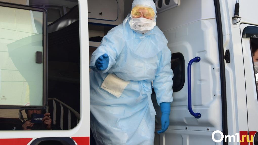 В семи районах Омской области число случаев заражения COVID-19 перевалило за 100