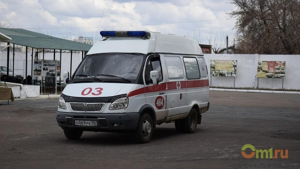 В Омске иномарка возле «зебры» сбила 10-летнего ребенка