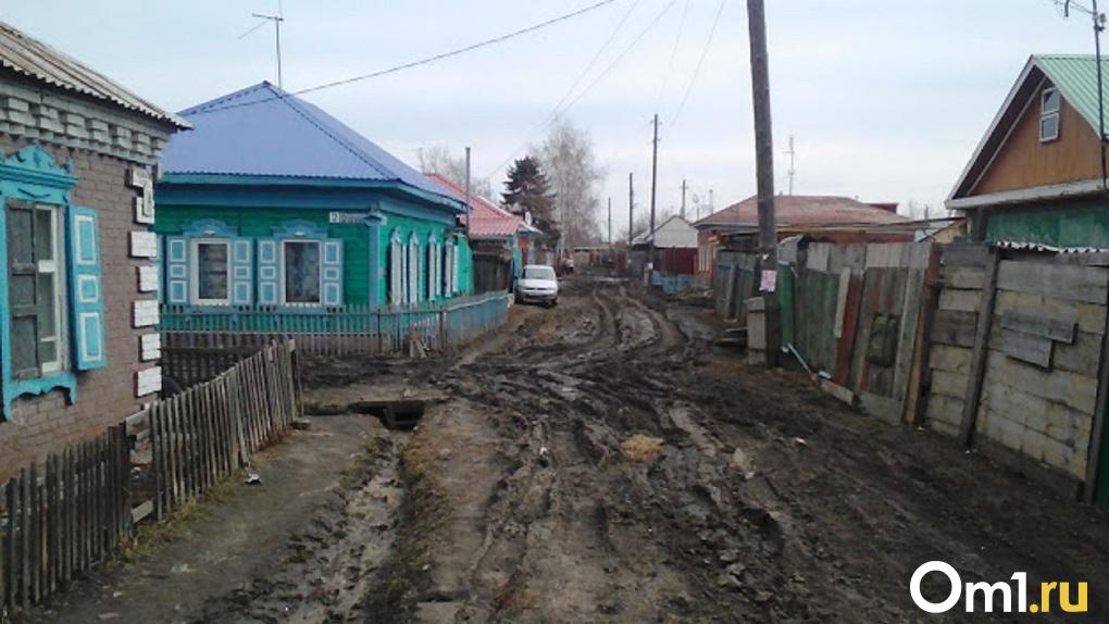 В Омской области несколько сёл остались отрезанными от цивилизации