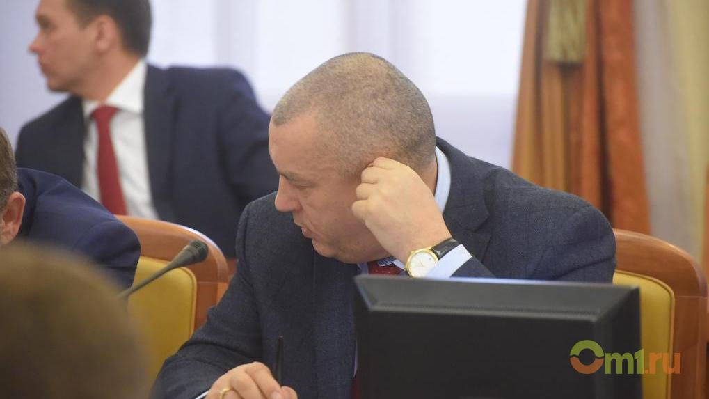 Фролову в правительстве Омской области отдали часть обязанностей Новоселова