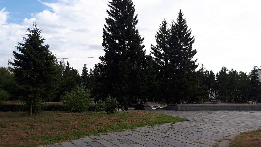 В Омске во время подготовки к благоустройству обнаружили фундамент Ильинской церкви и старинный ключ
