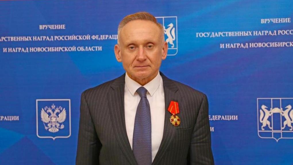 Вице-спикера Заксобрания Новосибирской области наградили орденом Александра Невского