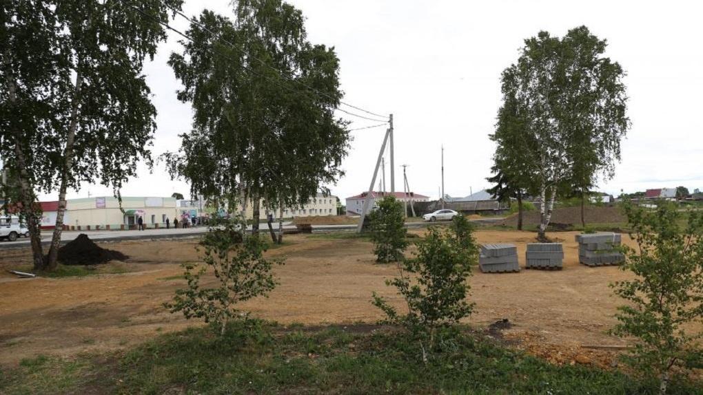 В Новосибирской области строят школу, детский сад и дома для многодетных семей