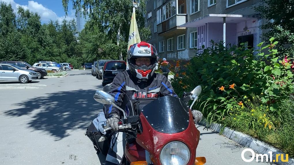Страшный диагноз и драйв в пути: байкер примчалась через всю Россию в Новосибирск. ВИДЕОИНТЕРВЬЮ