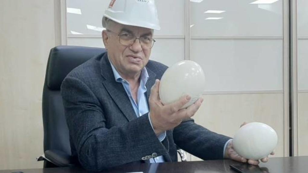 Новосибирский депутат показал бетонные яйца
