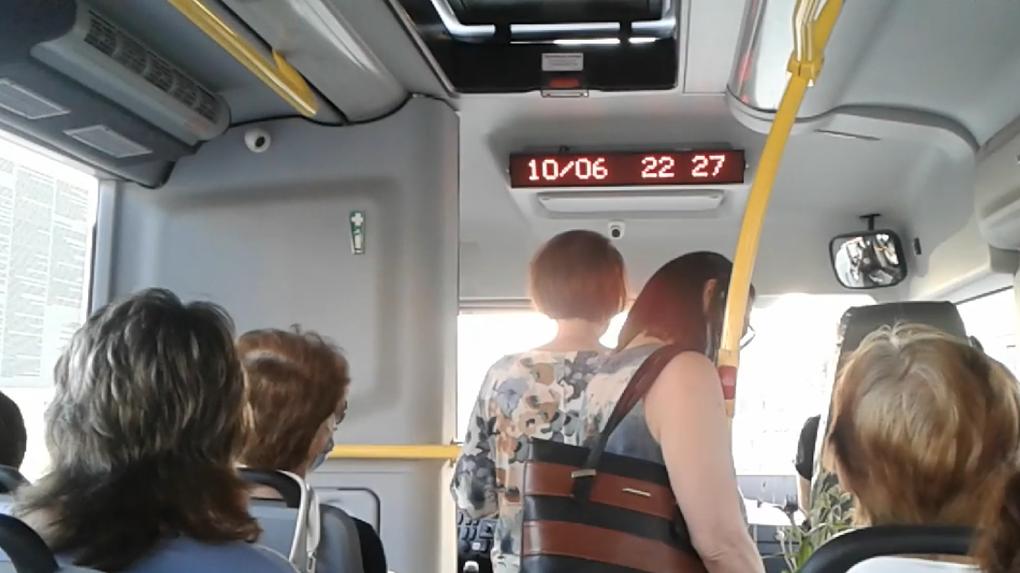 Курьёз: рязанский автобус «везёт» пассажиров в Новосибирск