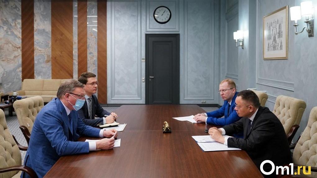 Александр Бурков поднял вопрос увеличения финансирования на благоустройство Омска