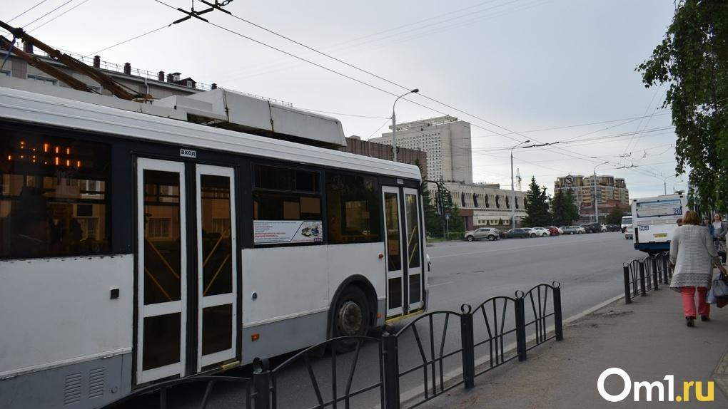 В Омске появится 33 новых троллейбуса