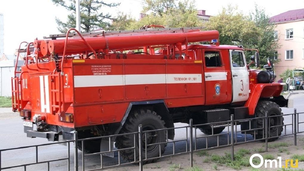 Омские дети стали реже создавать пожароопасные ситуации