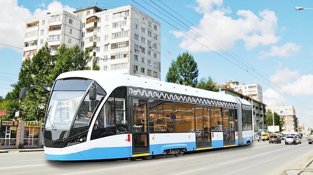На генплане Омска появился скоростной трамвай
