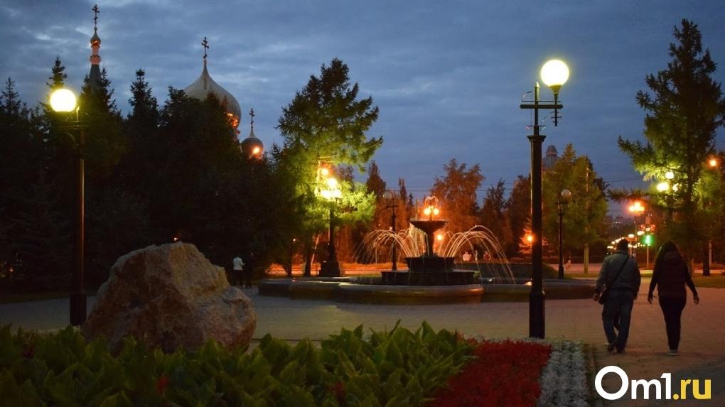 После масштабной вечерней аварии в Омске снова появилось электричество