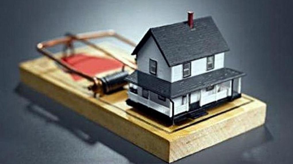 Омичке оформили ипотеку на ее же собственную квартиру