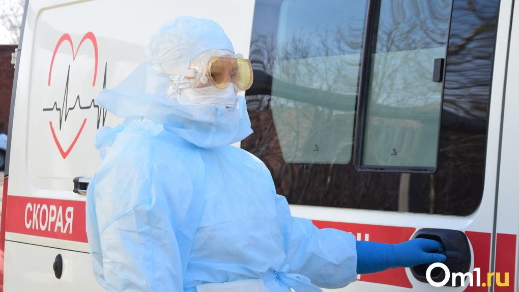 В девяти районах Омской области зарегистрировали прирост больных COVID-19