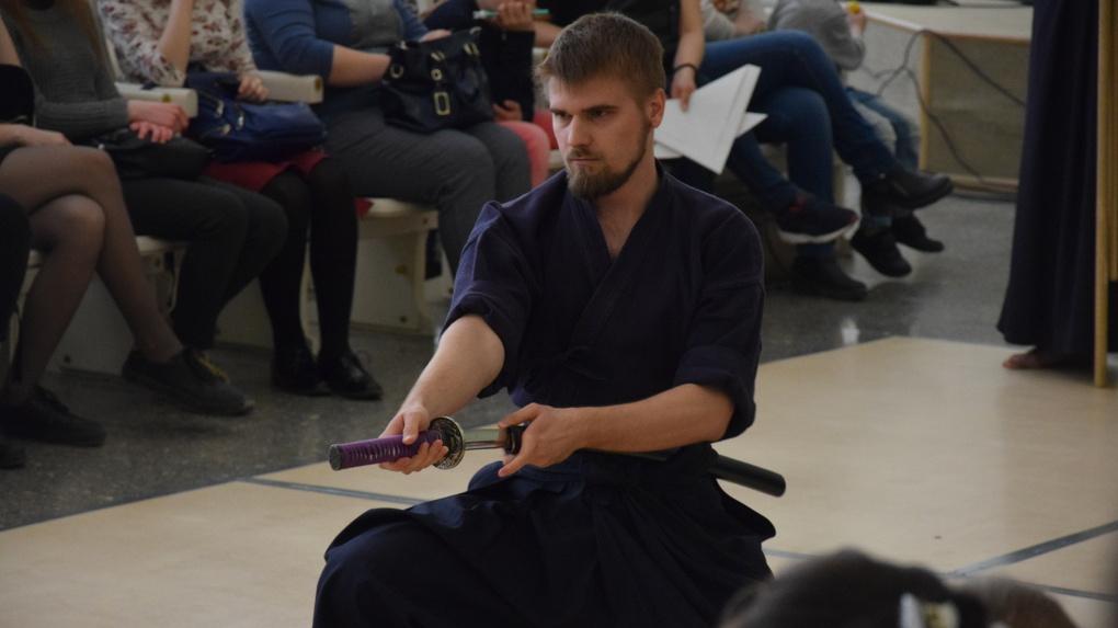На «Ночи музеев» омичи учились быть самураями: фоторепортаж