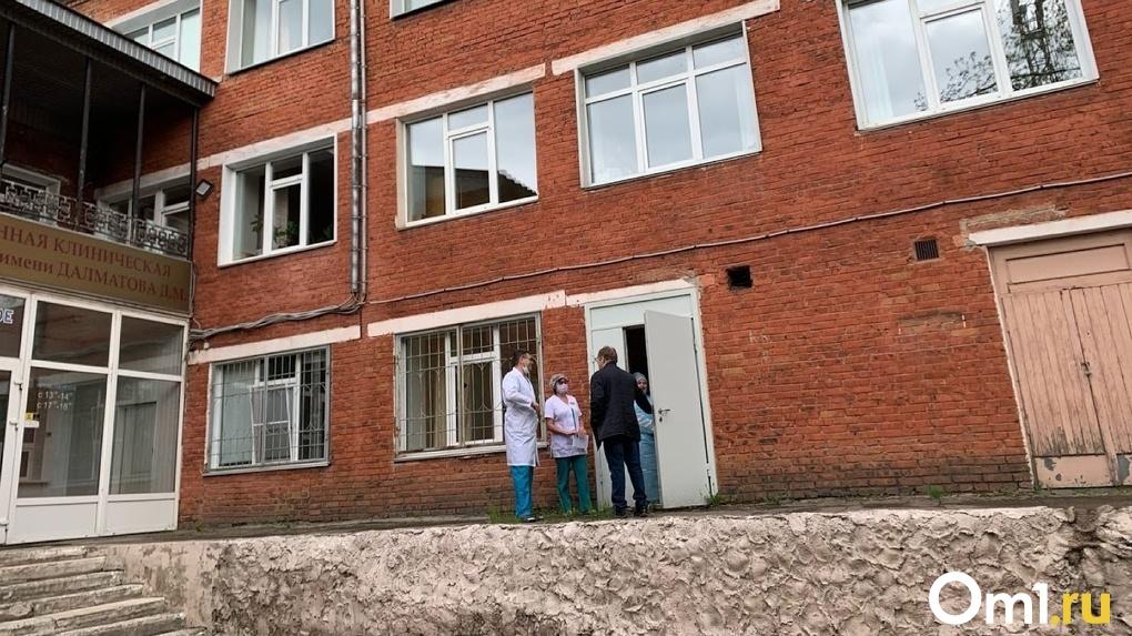 В Омске может смениться еще один главврач городской больницы