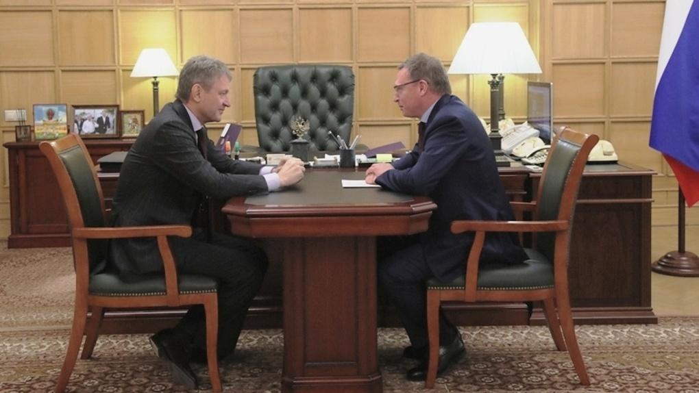Александр Бурков просил увеличить льготный лимит вывоза омского зерна