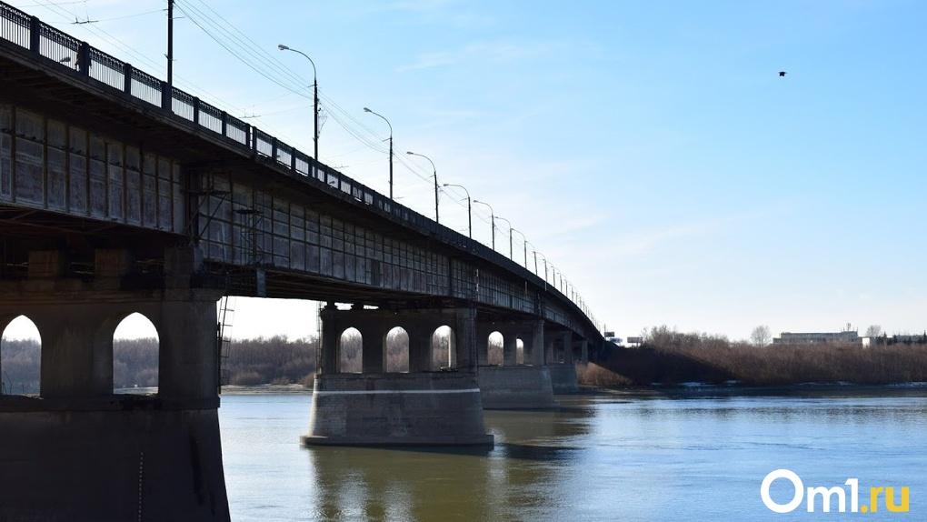 В Омске на ремонт Ленинградского моста в 2021 году потратят почти 40 млн рублей