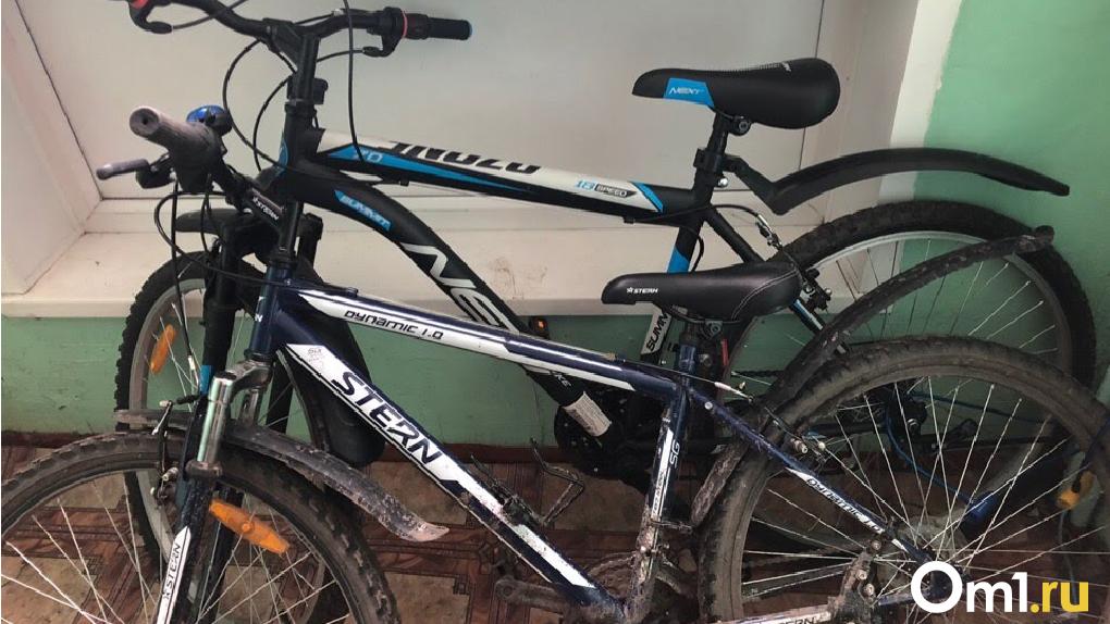 В Омске иномарка сбила ребенка на велосипеде