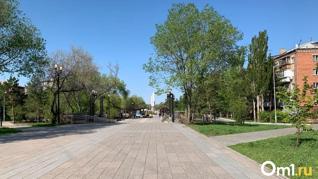 Как в Омске запускают фонтаны: смотрим вместе