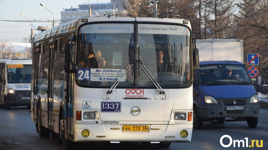 Сбивают и не пропускают: омские автобусы игнорируют пешеходные переходы и давят людей