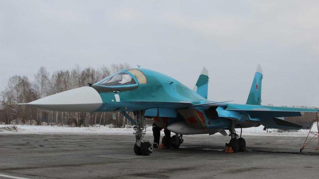 Новосибирский Чкаловский завод передал Минобороны партию бомбардировщиков Су-34
