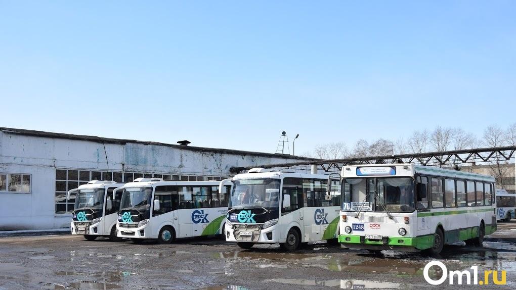 Из бюджета Омской области потратят 41,5 миллиона рублей на закупку новых автобусов
