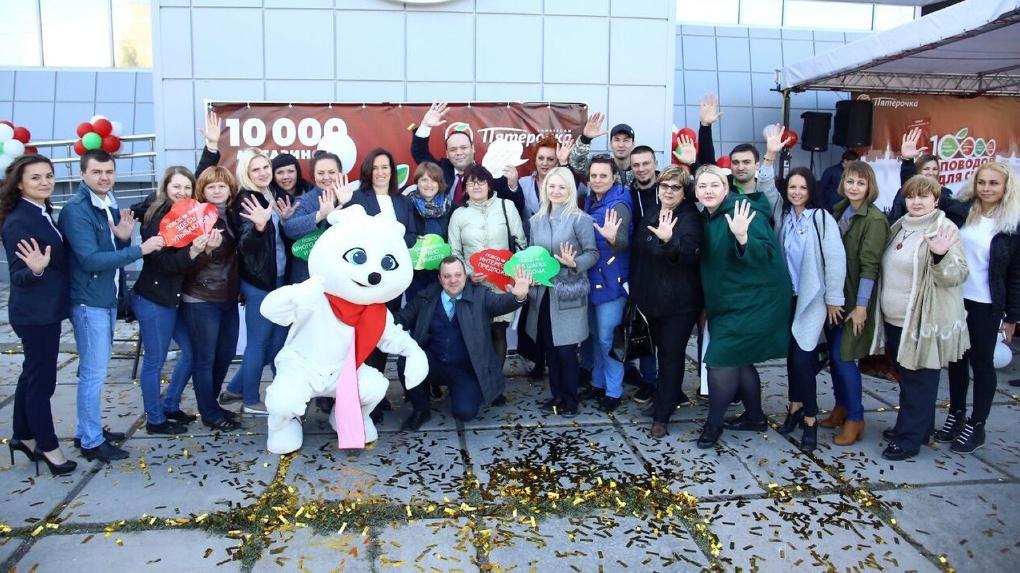 В Омске открылся новый магазин торговой сети «Пятёрочка»