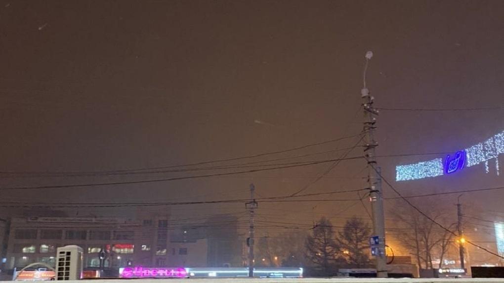 В Омске зафиксировали выбросы трёх химических веществ