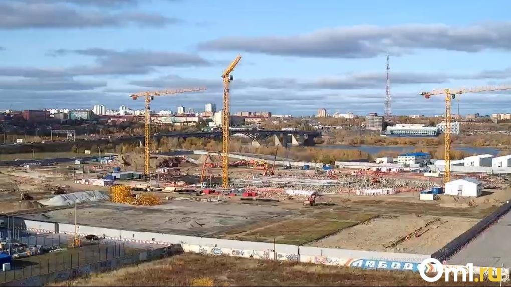«Арену Омск» будут строить несмотря на аномальные морозы и новогодние праздники