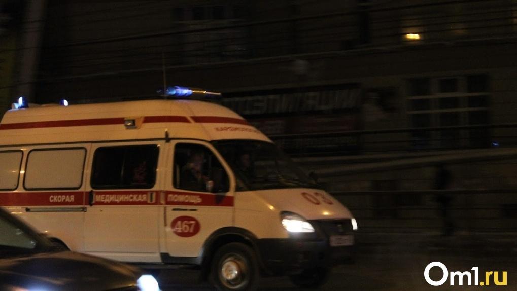В Омске автомобиль сбил ребёнка на пешеходном переходе