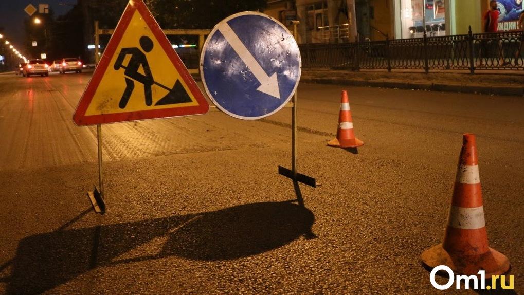 Трассу Омск – Муромцево отремонтируют до октября