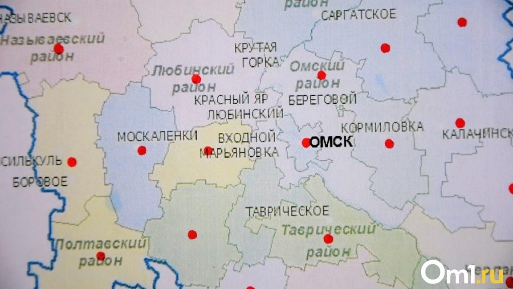 Новые случаи заражения COVID-19 есть в половине районов Омской области