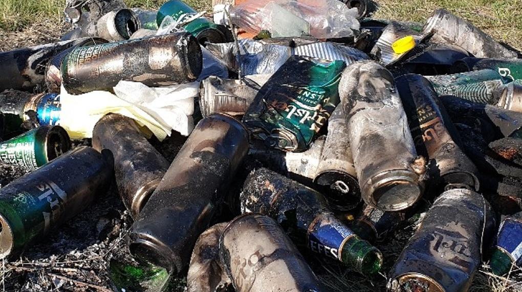 «Последствия 9 Мая»: омичка пожаловалась на гору мусора, которую оставили в ее поселке