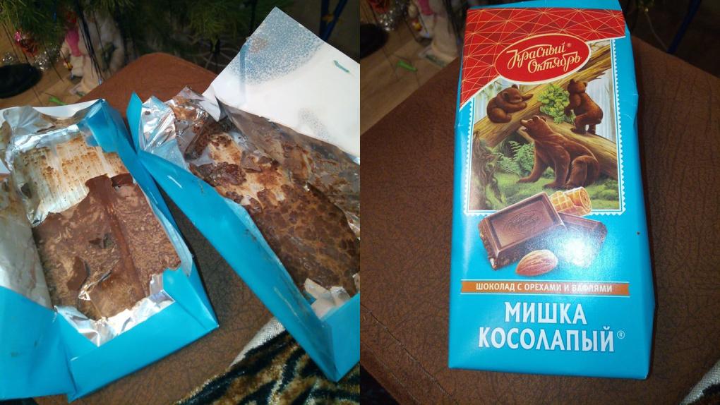 Новосибирцы сталкиваются с бракованными сладостями
