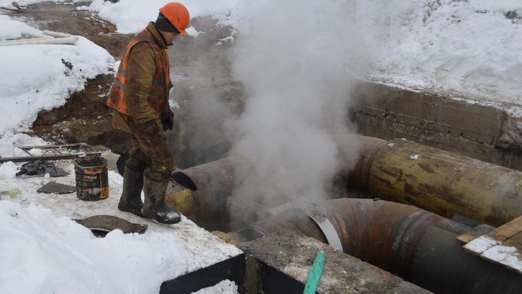 Больше сотни домов в Новосибирске остались без отопления из-за дефекта трубопровода