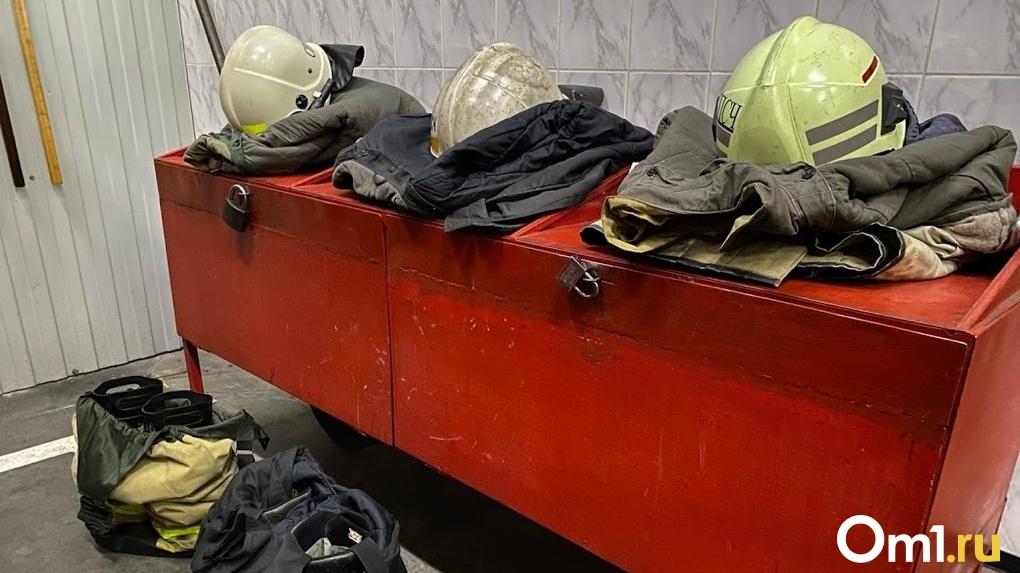 Семь районов Омской области находятся в зоне серьёзной пожарной опасности