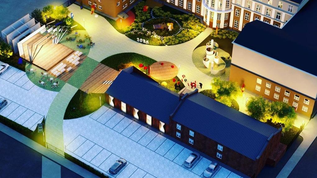 Арт-квартал создадут во дворе новосибирской консерватории